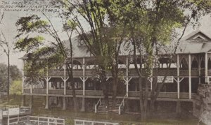 BRATTLEBORO, Vermont, PU-1911; The Pavilion, Island Park