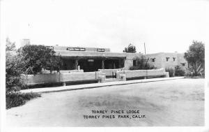 1940s San Diego California Torrey Pines Lodge RPPC Photo Postcard 4449