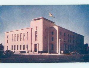 1940's POST OFFICE SCENE Fresno California CA AF0819