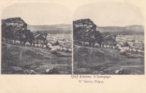 ATHENS, Greece, 1900-1910s; L'Areopage