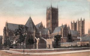 England Lincoln Cathedral N.E. 1920s