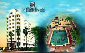 Florida Miami Beach The Marseilles Hotel 1976