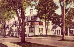 THE LORD JEFFERY, AMHERST, MA handcolored