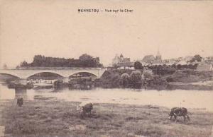 Vue Sur Le Cher, Bridge, Mennetou (Loir-et-Cher), France, 1900-1910s