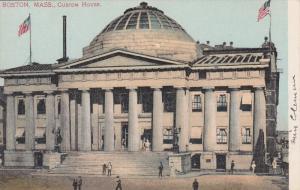 BOSTON, Massachusetts, 1900-1910´s; Custom House