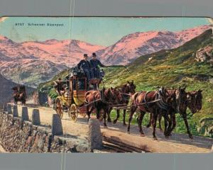 Switzerland - Schweizer Alpenpost 02.91