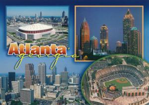 Turner Baseball Field - Atlanta GA, Georgia and Atlanta Multiview