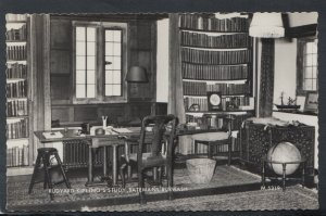 Sussex Postcard - Rudyard Kipling's Study, Batemans Burwash     T6536
