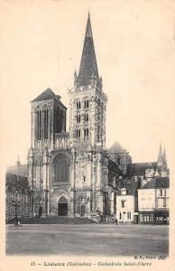France Lisieux (Calvados) - Cathedrale Saint-Pierre CPA