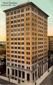 Florida Jacksonville The Heard Building 1913
