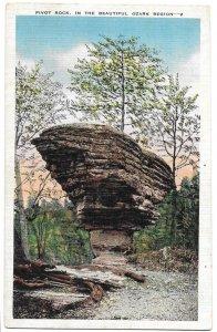 Pivot Rock, in the Beautiful Ozark Region unused Kropp
