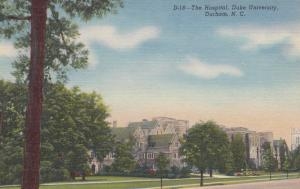 DURHAM, North Carolina, 30-40s: The Hospital, Duke University
