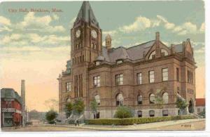 City Hall (Exterior), Brockton, Massachusetts, 1900-1910s