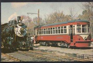 Transport Postcard - Red Arrow 26, Buckingham Valley Station, Railroad  A9663