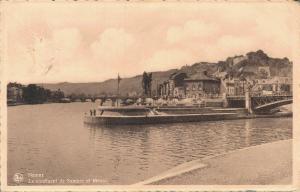Belgium Namur Le confluent de Sambre et Meuse 01.97