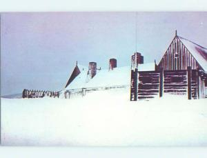 Pre-1980 WINTER SCENE Port Royal - Near Annapolis Royal & Digby NS H4365