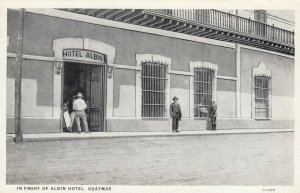 GUAYMAS , Mexico, 1900-10s ; Front of Albin Hotel
