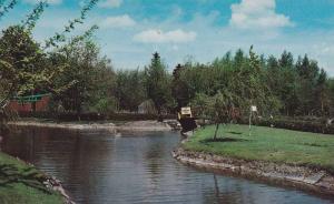 Pleasant view as you enter the Zoological Garden, Granby,  Quebec,  Canada,  ...