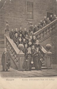 Glascow, Scotland , 1900-10s ; Exodus of Professors from Old College
