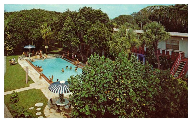 Crystal Sands Apartments Motel Rooms Vero Beach Florida Hippostcard