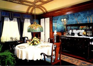 Indiana Elkhart Ruthmere Dining Room Overlooking The St Joseph River