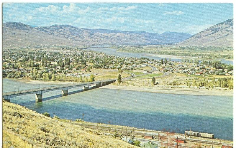 KAMLOOPS, BC, Canada, The Kamloops Bridge, unused Postcard