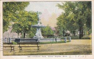GRAND RAPIDS, Michigan, PU-1908; Crescent Park
