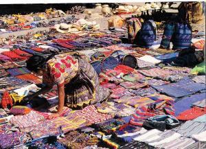 MERCADO, ANTIGUA, GUATEMALA, Market 2003, used Postcard