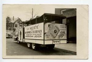 Keene NH Wrights Silver Cream Truck Milwaukee WI RPPC Real Photo Postcard