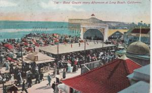 LONG BEACH, California, PU-1916; Band Concert every Afternoon
