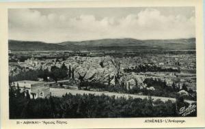 Greece - Athens, Aerial View    *RPPC