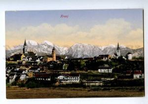 192070 SLOVENIA KRANJ Vintage postcard