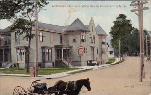 Concordia Hall And West Street Gloversville New York