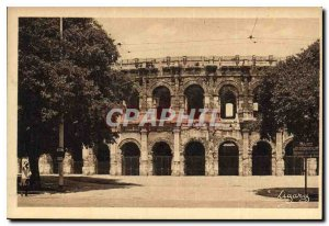 Postcard Old Nimes Les Arenes