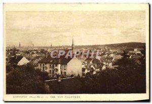 Old Postcard Mulhouse Dornach Yue On