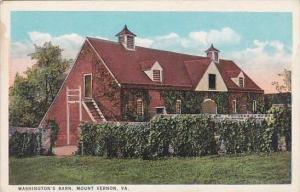 Virginia Mount Vernon Washingtons Barn