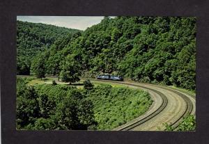 PA Conrail Railroad Train Engines Locomotives Altoona Penn Pennsylvania Postcard
