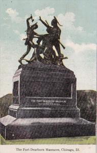 Illinois Chicago Fort Dearborn Massacre Monument