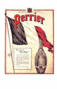 Postcard Nostalgia Perrier Advertisement April 1915 #AD6