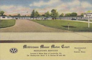 Kentucky Middletown Middletown Manor Motor Court