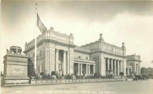 1915 PPIE San Francisco California NY State Building Postcard RPPC 3873