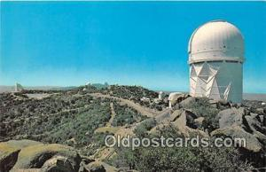 Space Postcard Tucson, AZ, USA Kitt Peak National Observatory