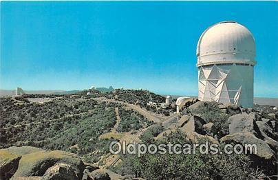Space Postcard Tucson, AZ, USA Kitt Peak National Observatory