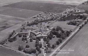 Illinois Sullivan Illinois Masonic Home Real Photo RPPC