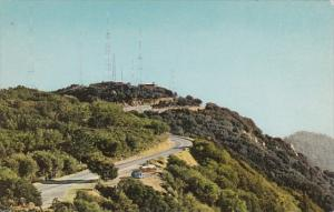 Television Transmitters Atop Mt Wilson California