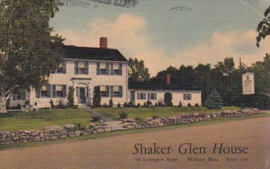 The Shaker Glen House Woburn Massachusetts 1950
