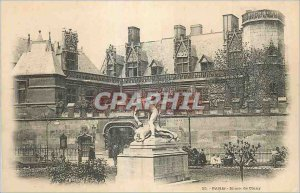 Postcard Old Paris Musee Cluny