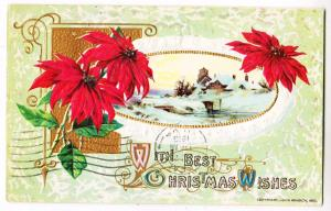 Christmas Wishes, Poinsettia, Winsch
