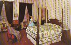 Pennsylvania Lancaster The Master Bedroom Wheatland Home Of James Buchanan 15...