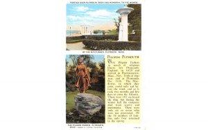 Pilgrim Plymouth Massachusetts Postcard